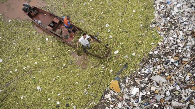 Der Jangtse spült am meisten Plastik ins Meer