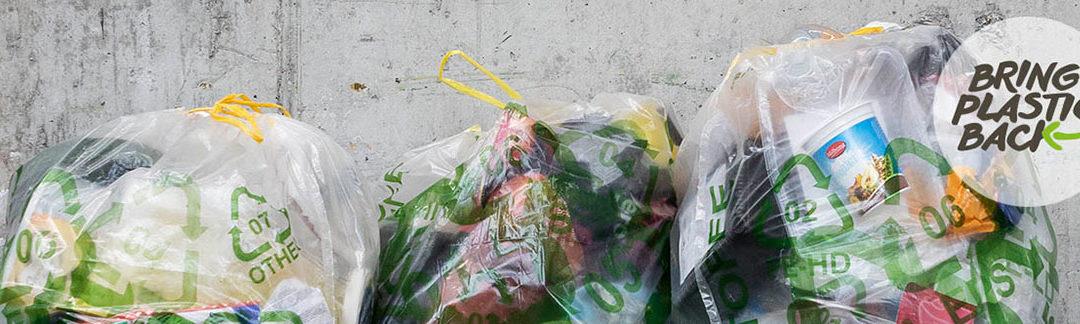 Plastik-Sammel-Sack