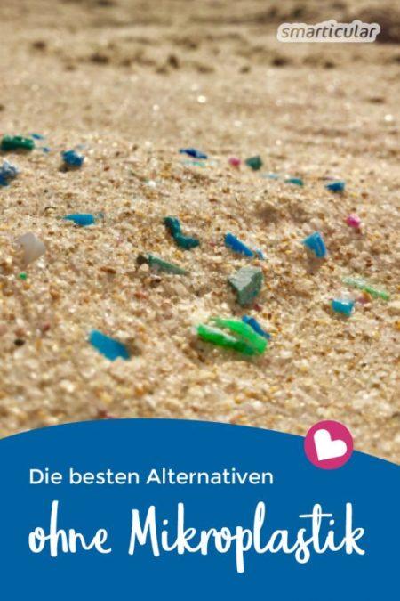 Weniger Mikroplastik