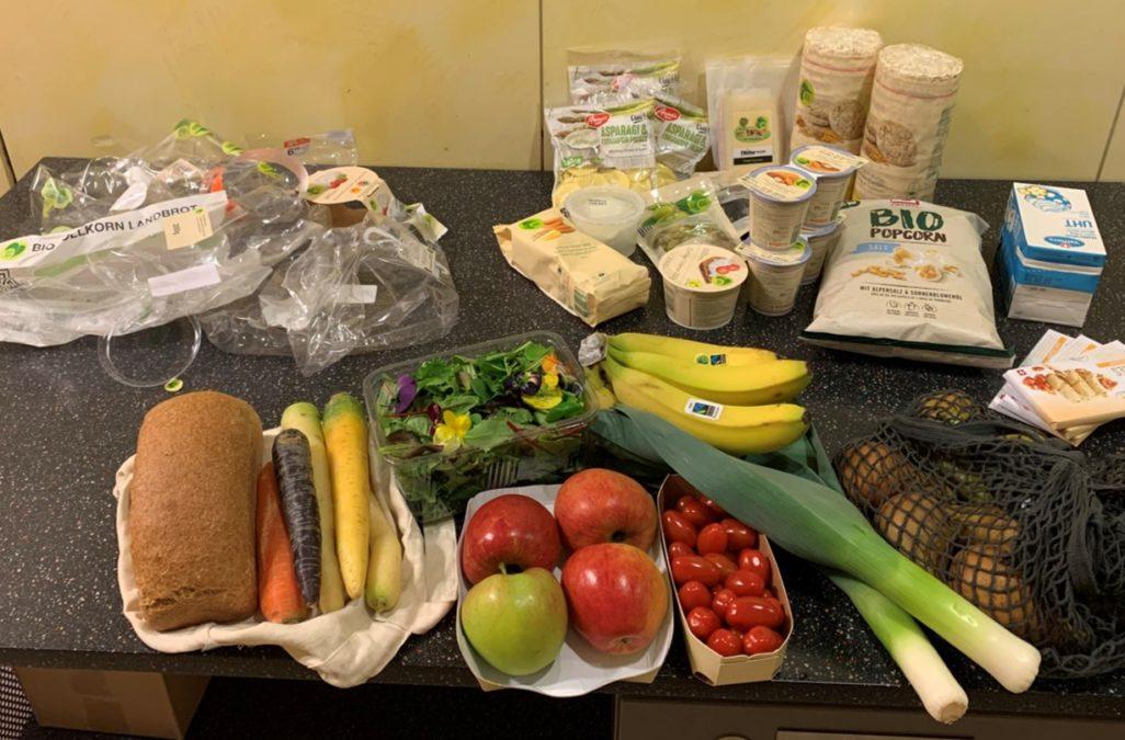 Lebensmittelverpackung – weniger ist mehr.