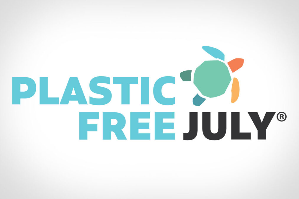 Plastic free July in Australien!