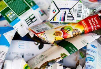 Getränkekartons separat entsorgen